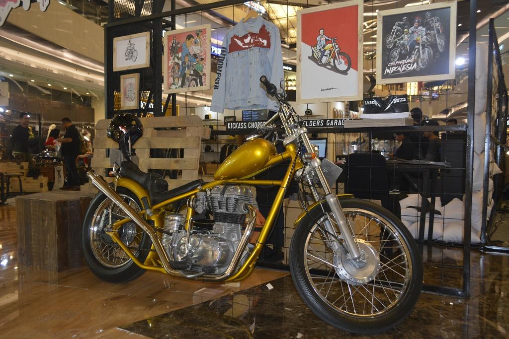 Custom Collaboration 2018, Motor Jokowi Mejeng di Kemang