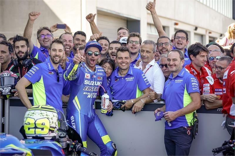 Andrea Iannone Raih Podium Kebanggaan di MotoGP Aragon