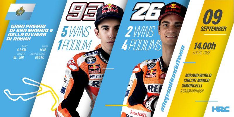 Marquez dan Pedrosa akan Kuasai MotoGP San Marino