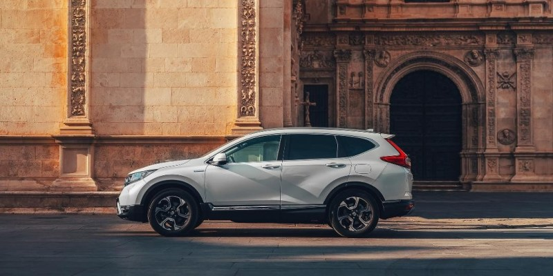 All New Honda CR-V Hybrid di Paris Motor Show 2018