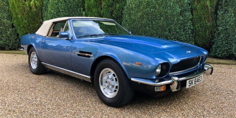 Aston Martin V8 Volante, Koleksi Vokalis The Who Dijual