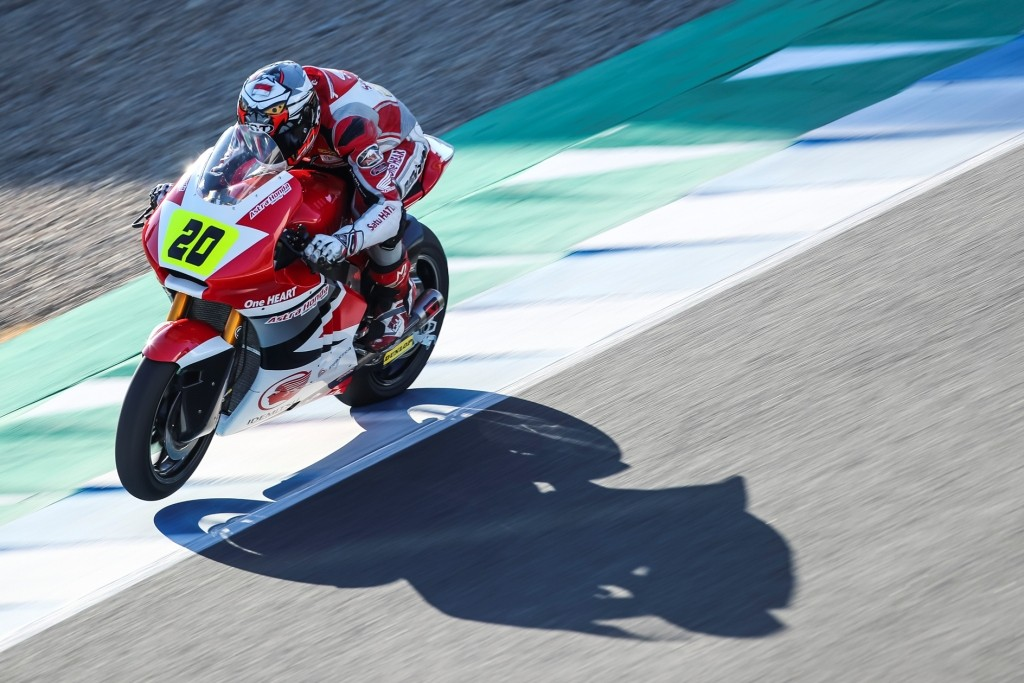Perjuangan Gerry dan Dimas di CEV Championship Jerez