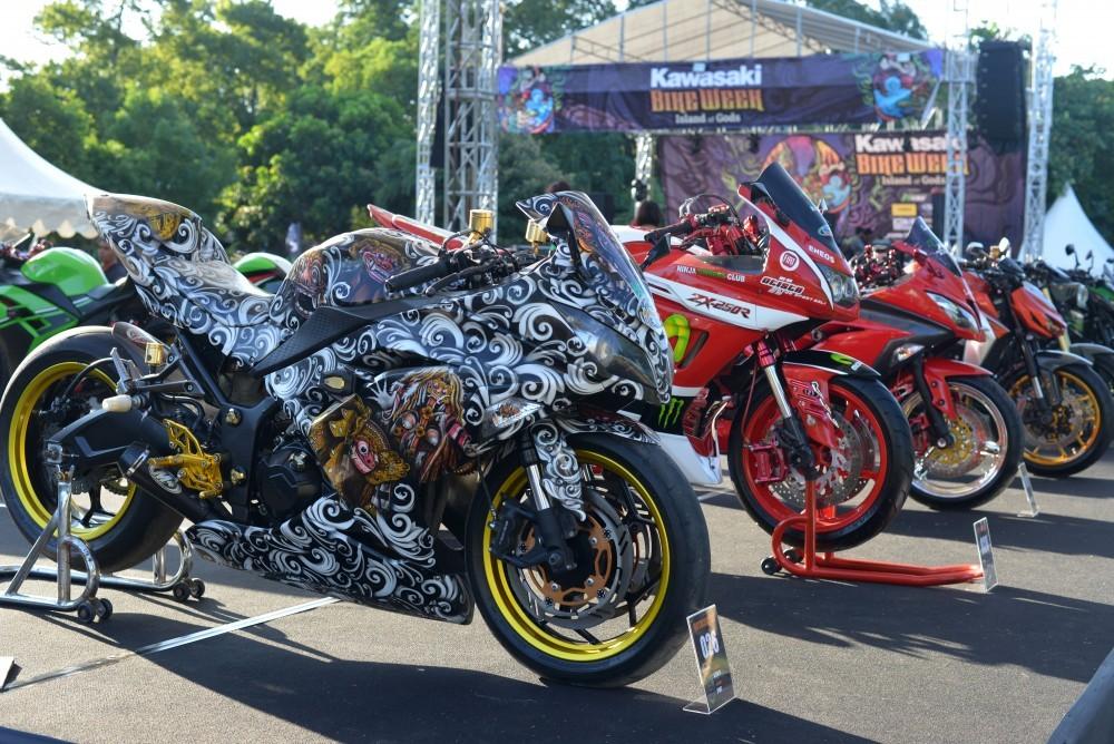 Bikers Kawasaki Siap Serbu Bandung