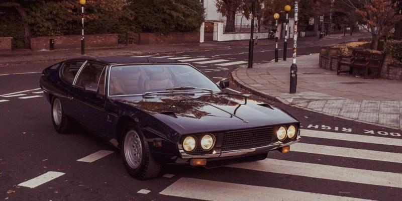 Lamborghini Espada Rayakan 50 Tahunnya di Abbey Road