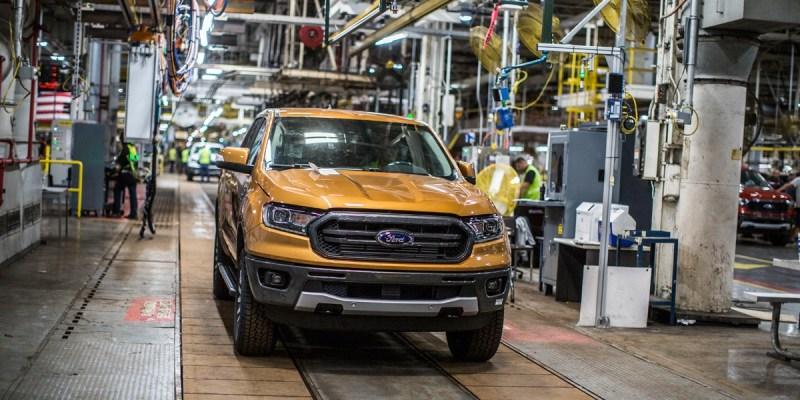 All New Ford Ranger Sudah Mulai Produksi Amerika