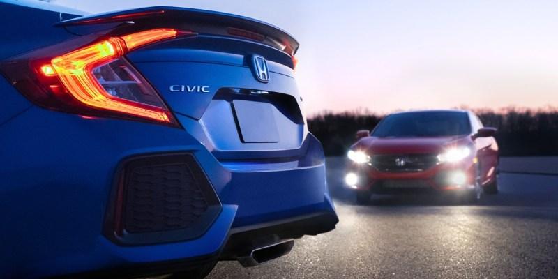 Honda Civic Si Sedan dan Coupe Melantai 1 November