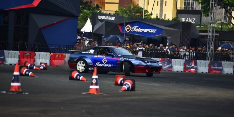 Adu Gengsi Drifter Nasional dan Internasional di Intersport 2018