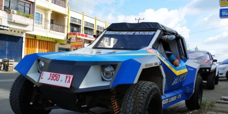 Mobil Listrik 'Blits' Tiba di Kota Bengkulu