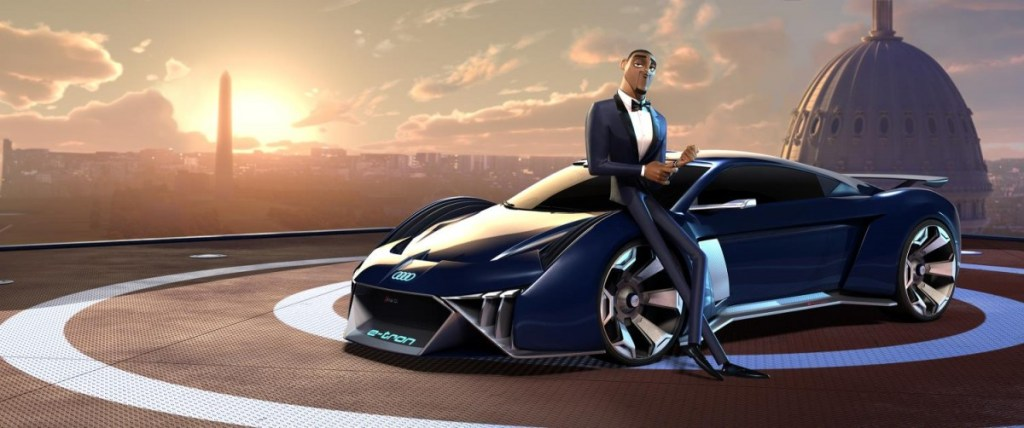 Audi RSQ e-tron ada di Spies in Disguise