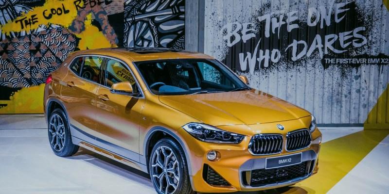 BMW X2 Sasar Konsumen Berjiwa Muda