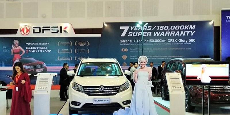 IIMS Surabaya 2018, Ajang DFSK Lebih Perkenalkan Glory 580