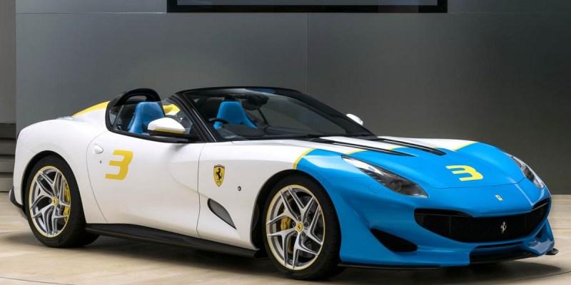 Ferrari SP3JC, Hanya Satu di Dunia