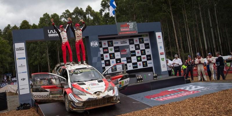 Toyota Gazoo Racing Juara Dunia WRC 2018