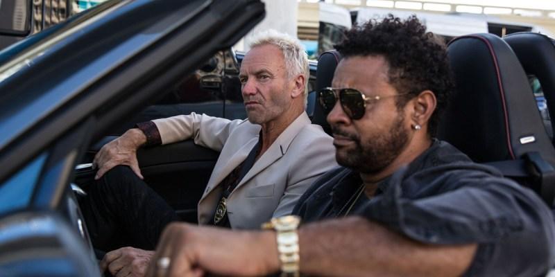 Sting dan Shaggy Pakai Tunggangan Keren