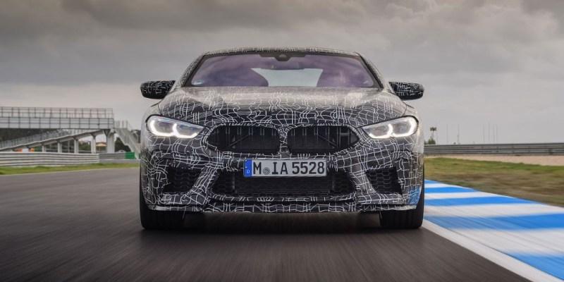 BMW M8 Coupe Jelang Masuk Jalur Produksi