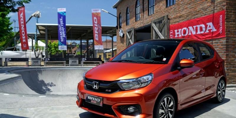 Honda Brio Catat Angka Penjualan Tertinggi di November 2018
