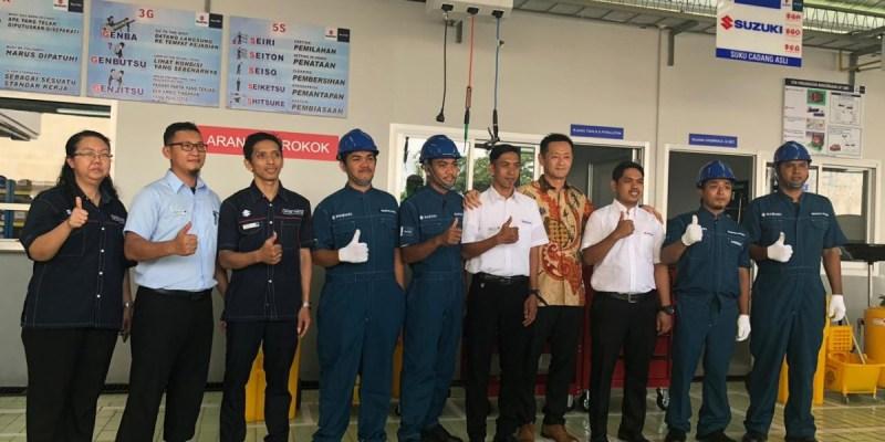 Perluas Jaringan, Suzuki Resmikan 2 Outlet Sekaligus di Sulawesi