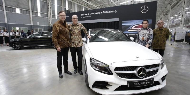 Mercedes-Benz C-Class Versi Lokal Meluncur Lebih Mewah