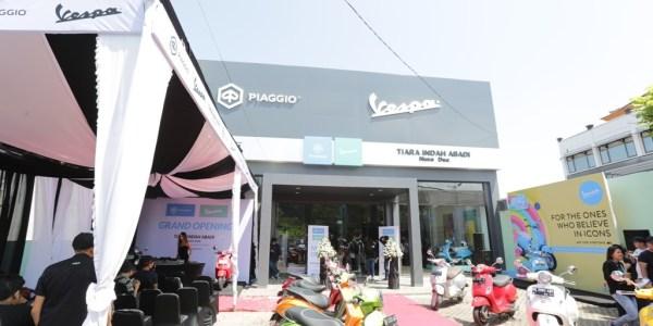 Inilah Dealer Piaggio Indonesia ke-38 di Nusa Dua Bali