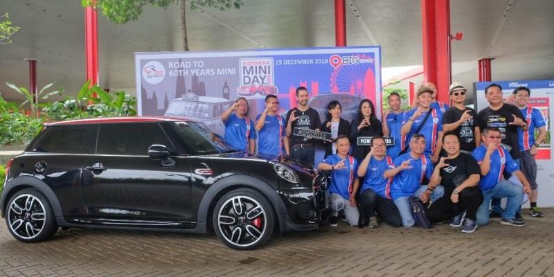 Berbagai Varian Mini Cooper 'Mejeng' di IMD 2018