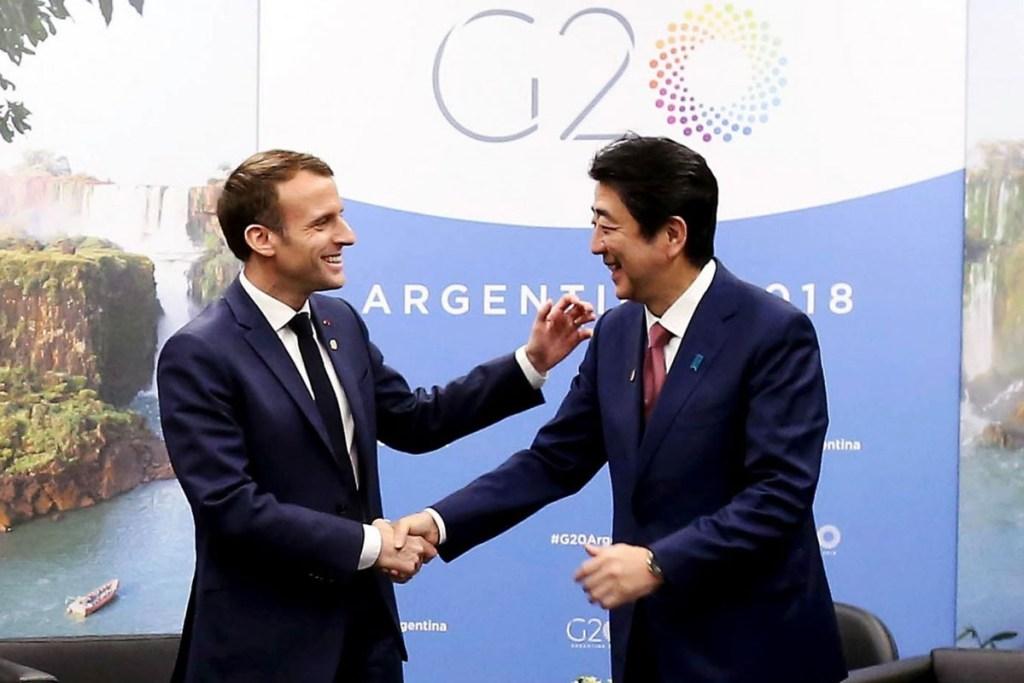 Di G20, Presiden Perancis dan PM Jepang Bincangkan Ghosn