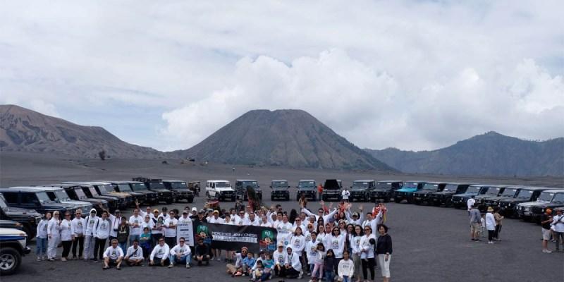 Keseruan 'MJI East Java Cul Tour 2018' di Bromo