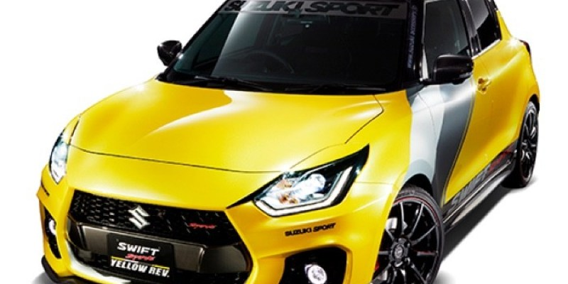 Ini Dia, Suzuki Swift Sport Yellow REV Concept