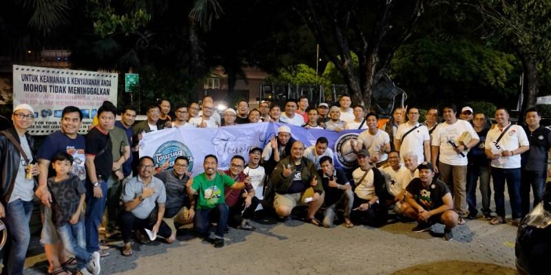 W124 MBCI Jakarta Chapter Gelar 'Touring Nostalgia'