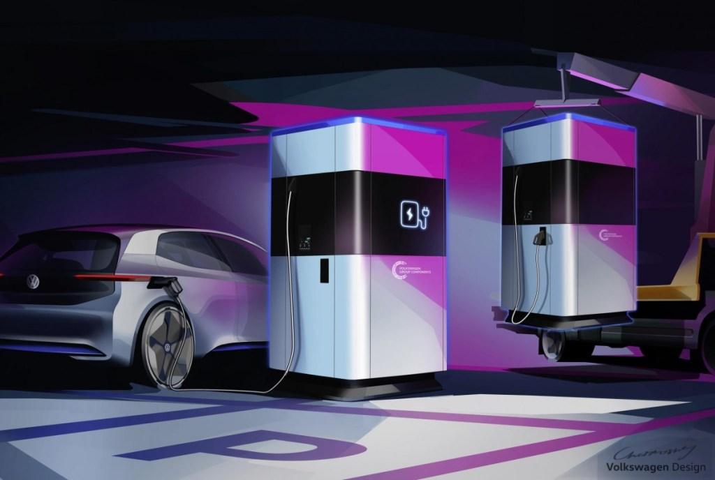 Volkswagen Siapkan 'Power Bank' untuk Mobil Listrik