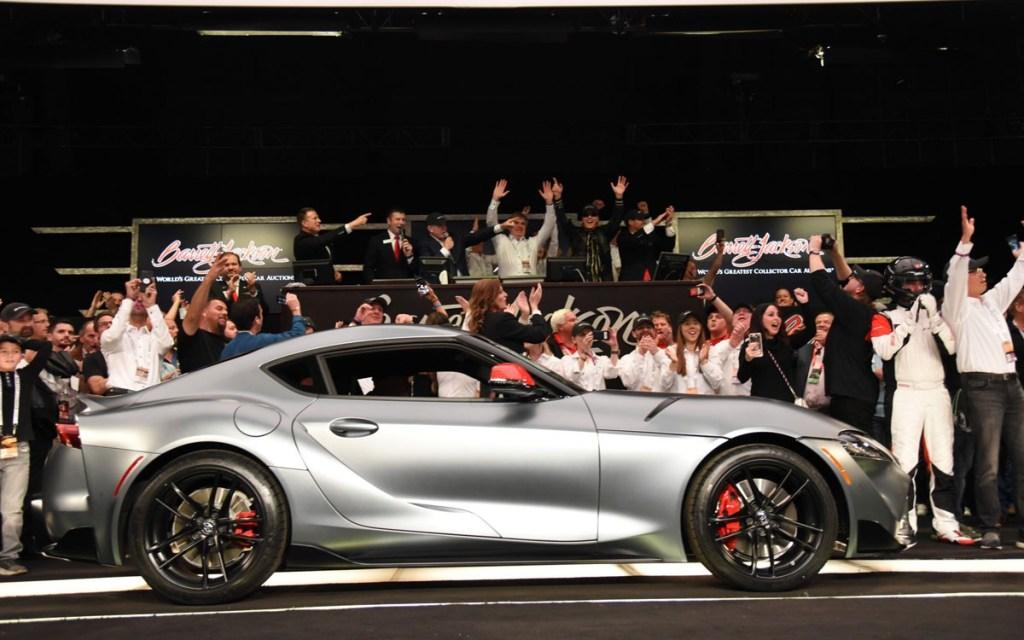Lelang All New Toyota GR Supra, Nyaris Rp 30 Miliar!