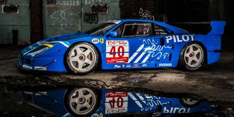 Ferrari F40 LM Istimewa Ini Dijual