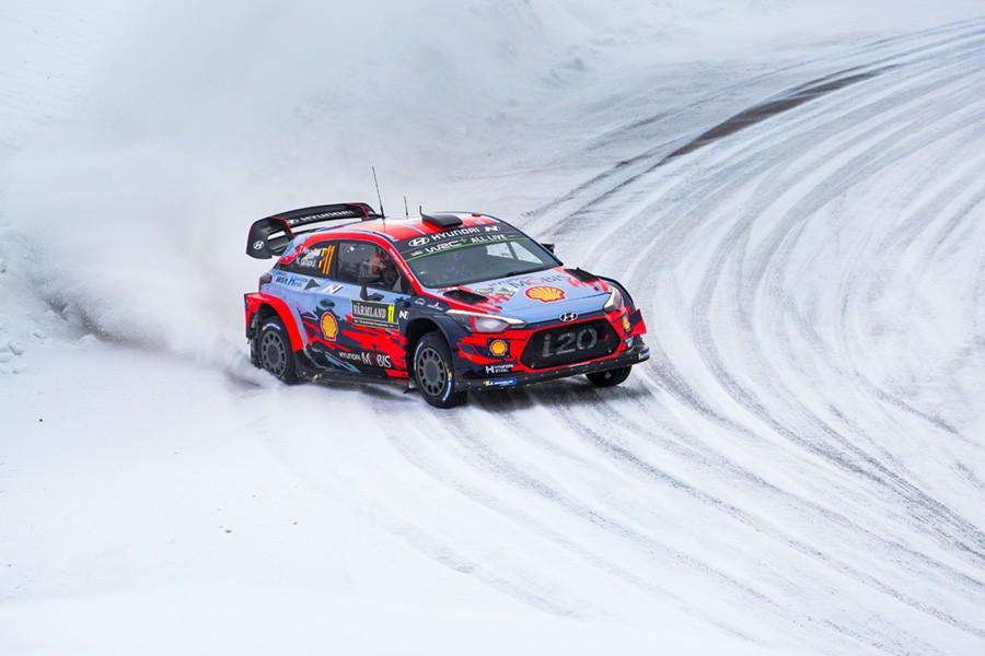 WRC Swedia 2019: Thierry Neuville Amankan Podium