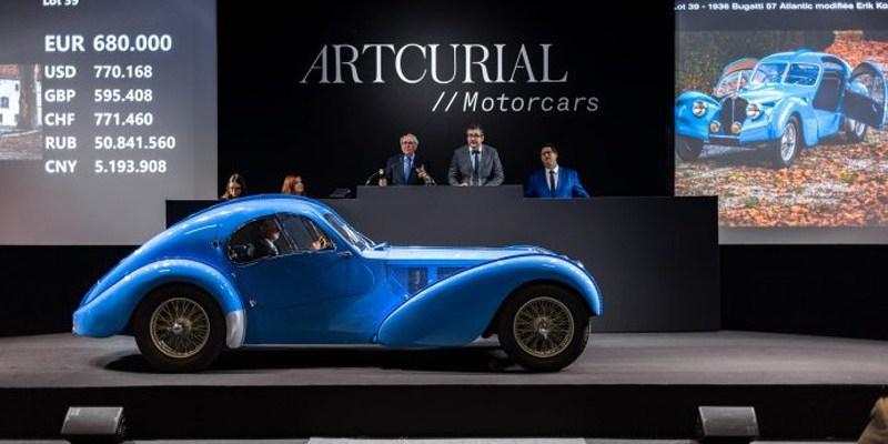 Lelang Acturial Motorcars Capai Rp 673,5 miliar