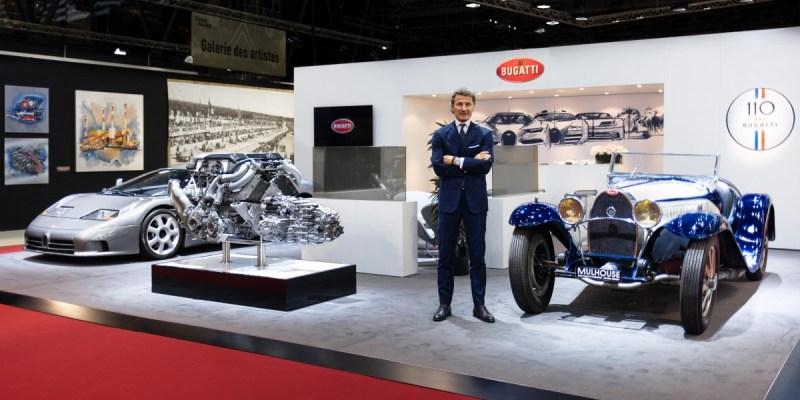 Ini Dua Legenda Bugatti di Rétromobile 2019