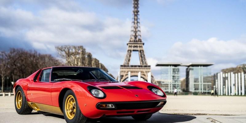 Lamborghini Miura SV 'Mejeng' di Retromobile 2019 Paris