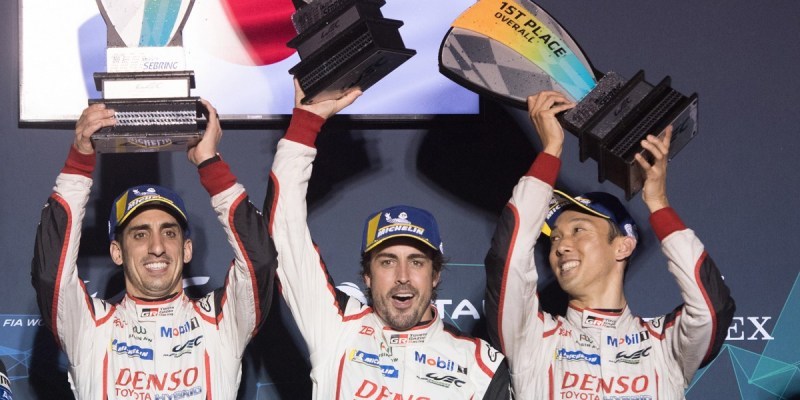 1000 Miles of Sebring: Toyota Gazoo Racing Podium 1-2