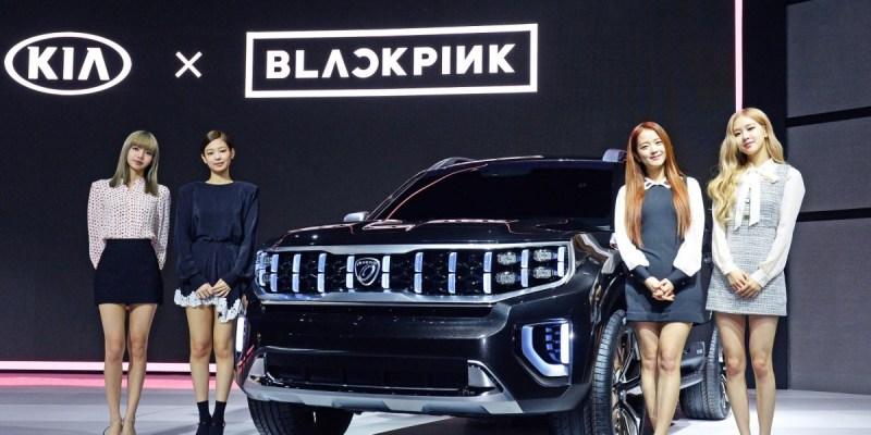 Blackpink Kenalkan Konsep SUV Kia di Seoul Motor Show 2019