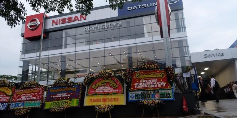 PT NMI Resmikan 'Nissan Retail Concept' di Tangerang