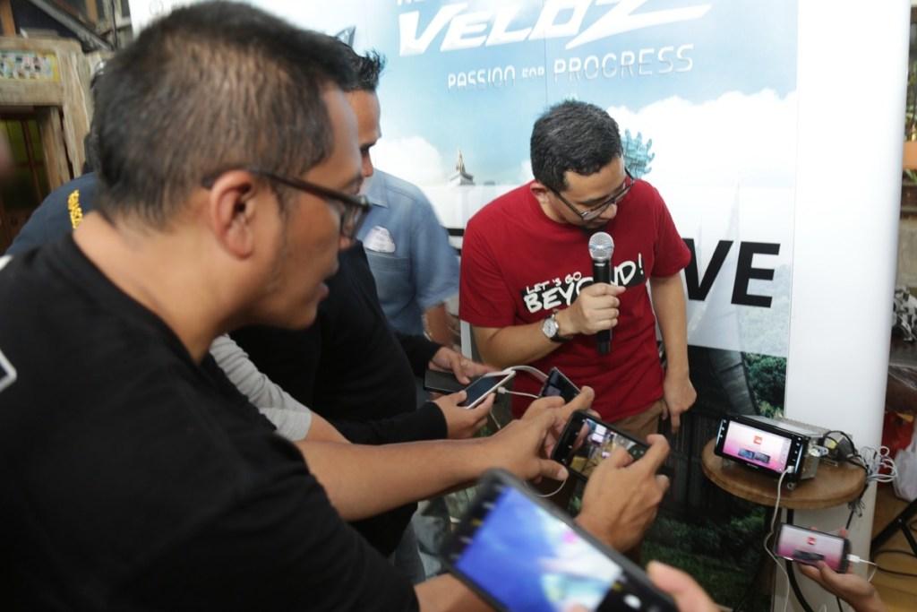 Galeri Foto 'Journalis Test Drive' New Avanza dan New Veloz