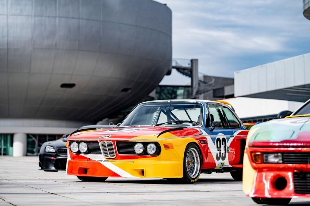 BMW Art Car di Art Basel Hong Kong