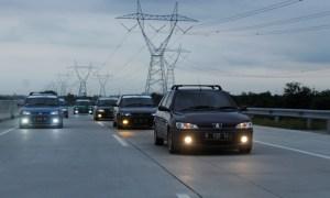Keseruan Gathnas Indonesia Peugeot 306 Community