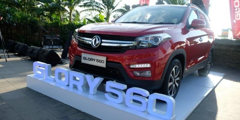 DFSK Resmi Kenalkan Glory 560, SUV Compact Bergaya Eropa