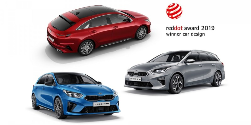 Kia Ceed Raih Tiga Red Dot Awards 2019