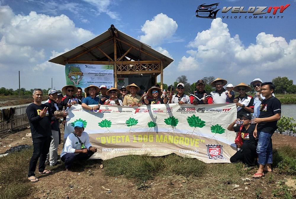 Penanaman 1000 Pohon Mangrove Oleh D'VECTA