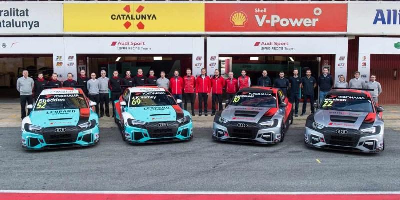 "4 Unit Audi RS 3 LMS akan ""Babat"" Podium WTCR 2019"