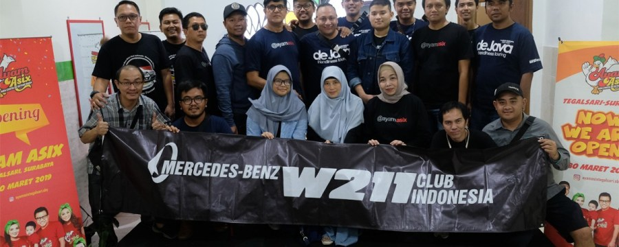 'MB W211 CI Touring De Java', Indahnya Persaudaraan