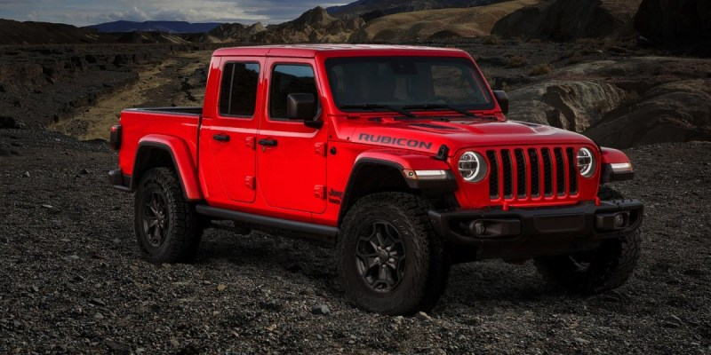 4.190 Unit All New Jeep Gladiator Launch Edition, Ludes