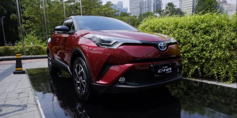 Toyota C-HR Hybrid Akan Tampil di IIMS 2019, Apanya yang Beda?