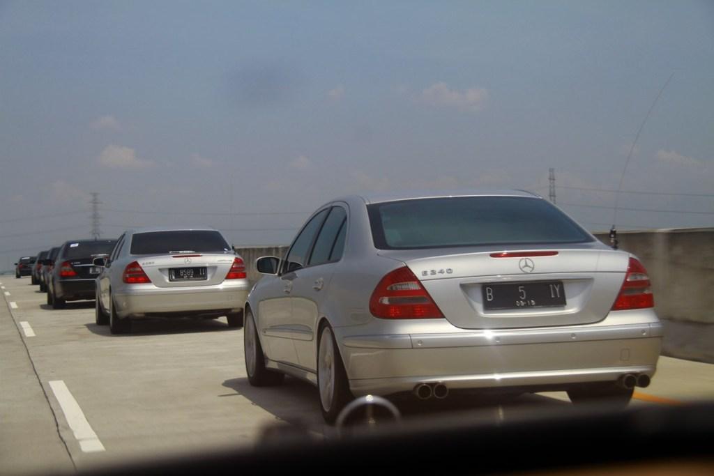 Highlight Dari Acara 'MB W211 CI Touring De Java'