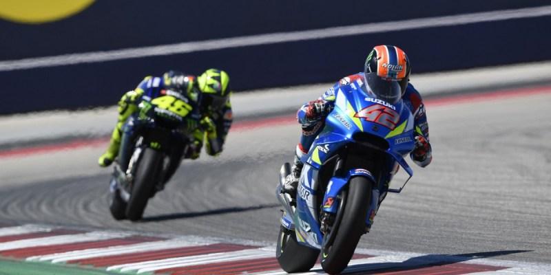 Cetak Sejarah, Suzuki Antarkan Alex Rins Juarai MotoGP Amerika 2019